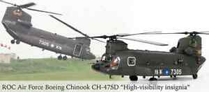 Helicóptero Boeing CH-47SD Chinook 7305 China 2003 1:72 Forces of Valor