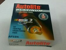 Set of 4 AP104 AutoLite Platinum Spark Plug Nascar performance NEW
