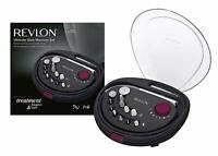 Revlon Ultimate Glam - Set de manicura y pedicura, rotacion bidireccional,
