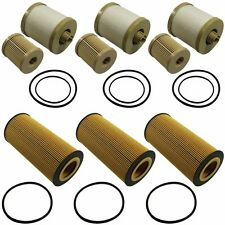 3 of Each FL2016 FD4616 Fuel & Oil Filter Replacement For 6.0L Ford Turbo Diesel