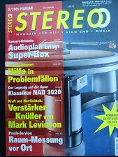 Stéréo 2/05 phonar Credo s100, MARANTZ DV 9500, Opera reference 880, Levinson 434