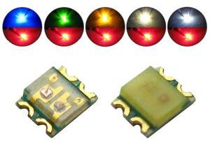 SMD LED 0605 DUO Bi Color LEDs blau / grün / warmweiß / kaltweiß / gelb - rot