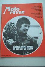 MOTO REVUE 1976 avril 1970 J.Robert Ravel kawasaki Le Mans Honda CR750 Ossa ...