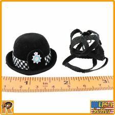 Metropolitan Police Female  - Derby Hat - 1/6 Scale - Modelingtoys Figures