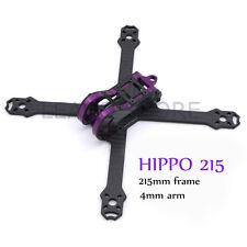 HIPPO 215mm 215 carbon fiber frame kit 4mm arm and aluminum quadcopter drone rc