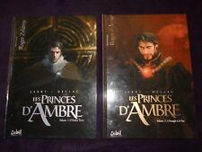 Les Princes d'Ambre- volume 1 et 2- JARRY-DELLAC-ZELAZNY-BD-EO-TBE-2010-2011.