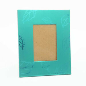 "Picture Frame Green Leaf Leaves Shiny 2x3"" Photo Nature"