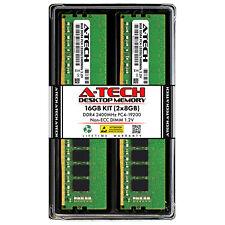 A-Tech 16 ГБ 2 X 8 ГБ DDR4 рабочего стола PC4-19200 2400 МГц Dimm 288-Pin 1rx8 память Ram