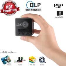 Mini P1 USB Home Theater Multimedia 1080P HD LED DLP Projector Portable Pocket