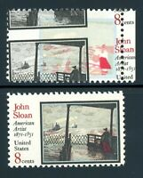 EFO 1433 MONSTER COLOR SHIFT STAMP!  ASTOUNDING AND VERY RARE.SHEET MARGIN COPY