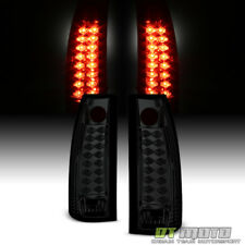 Smoke 1988-1998 Chevy Silverado Tahoe Suburban Yukon Lumileds LED Tail Lights