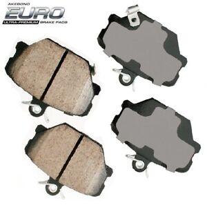 For Smart Fortwo 1.0L 08-16 Ceramic Front Disc Brake Pads AKEBONO EURO EUR1252