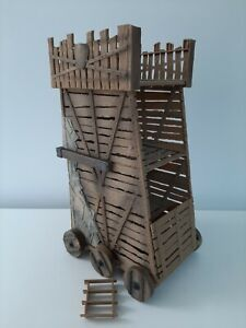 *REVELL EPIXX SIEGE TOWER KNIGHTS BLUE BOX TOYS-EXC COND*