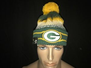 Authentic New Era Green Bay Packer's Special Blend Beanie Skully Jungle NFL