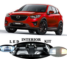 LED Package - Interior + License Plate + Vanity + Reverse for Mazda CX-5 13 Pcs