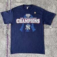 MLB New York Yankees 2009 AL East Champions Baseball Shirt Mens Medium