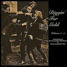 Diggin' For Gold - Volumes 1 - 5 - Various Artists (NEW 5CD)