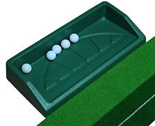 "Plastic Golf Ball Tray Large (Can Hold 100 Golf Balls) Green 25""x13""x4"""