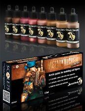Metal 'N Alchemy Copper series - 8 acrylic paints (17ml jars)