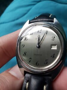 Omega 196.0121 Caliber 1370 Quartz Watch