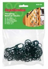 "Garden Hanging Basket Black Chain 3 Strand 18.7""  - FREE POST"