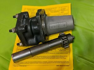 LYCOMING HYDRAULIC PUMP DRIVE GEAR AND ADAPTER ASSEMBLY 72964 & 75545