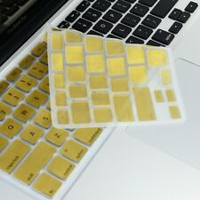 METALLIC GOLD Silicone Keyboard Cover for Macbook Pro