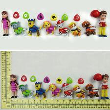 NEW**8 pcs Set PAW PATROL Marshall Rubble Chase Rocky Zuma Skye Figure Toy Kids
