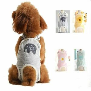 Adjustable Washable Belly Band Dog Diapers Female Male Dog Wraps Dog Pads