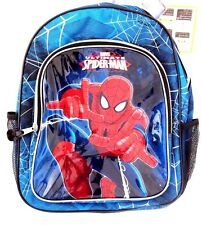 Marvel Comics Ultimate Spider-Man Boy's Graphic Backpack Book-Bag NWT