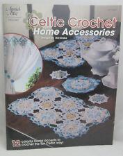 Annie's Attic Celtic Crochet Home Accessories ~ 12 Patterns