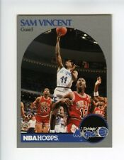 1990-91 Hoops #223 Sam Vincent - Orlando Magic Card (Shows Michael Jordan)