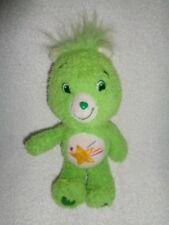 "Care Bear OOPSY Lil Fluffy 2007 9"" stuffed plush fuzzy bean bag Green Star"