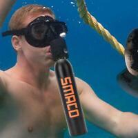 Serbatoio aria ossigeno ossigeno respiratore snorkeling respirazione mini