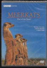 MEERKATS PART OF THE TEAM BBC DOCUMENTARY GENUINE R2 DVD SIMON KING NEW/SEALED
