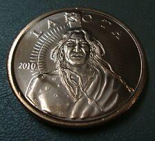 LOT OF 6: 1 OZ .999 Fine Copper Rounds ~ Lakota Texas d'Anconia Local Palin Paul