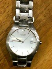 Retro Elegant Citizen 2510-S99281 Date Aperture Quartz Gents Bracelet Watch