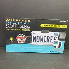 WHISTLER WBU-900W WIRELESS DIGITAL BACKUP CAMERA New In Box Free Shipping