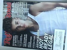 Rolling Stone Magazine Justin Beiber Bruce Spring August 2, 2012 062117nonrh