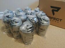 """12x New Unused PERFECT SHAKER Blending Bottle 12oz/400ML Protein shaker 7""""/18cm"""