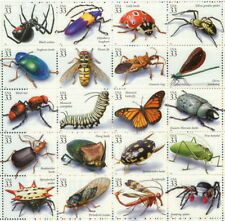 1999 sheet Insects and Spiders Sc# 3351