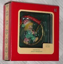 Carlton Heirloom Ornament ~ Special Grandchild ~ Jolly Holidays ~ 1992 *New