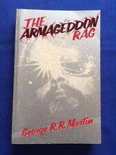 ARMAGEDDON RAG - ADVANCE READING COPY BY GEORGE R.R. MARTIN