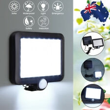56 LED Solar Powered PIR Motion Sensor Wall Light Outdoor Garden Security Lamp
