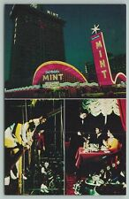 Las Vegas Nevada~Del Webb's Mint Hotel-Casino Casino~Standard Chrome Postcard