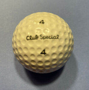 Vintage Golf Ball CLUB SPECIAL #4 Acushnet Circa 1970