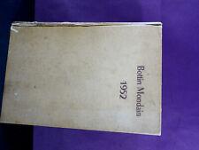 livre ancien bottin mondain 1952