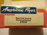 AMERICAN FLYER S GAUGE MINT 4-9206 NEW YORK CENTRAL WITH REMOVEABLE HOPPER