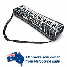 BLACK Inflatable Piano Keyboard Kids Party Toy Birthday Party Favors Bucks Night