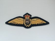 Reproduction A.M.F. Australian Military Forces Pilots Bullion Wire Wings Badge